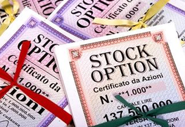 Buy stock options startup